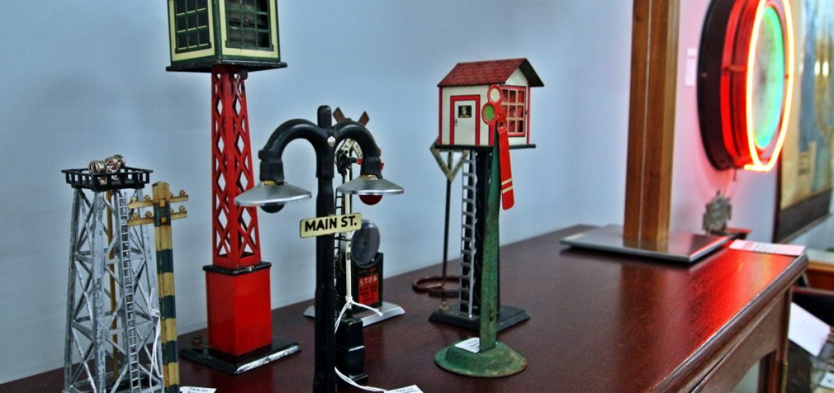 A photo of antique items at Filter.